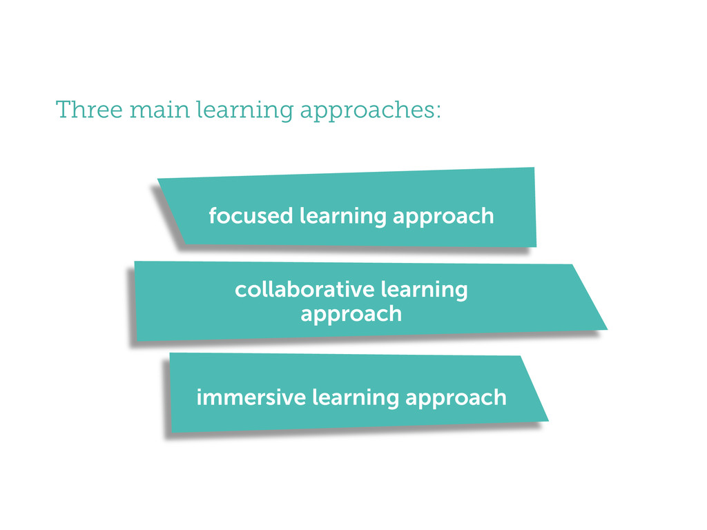 focused learning approach collaborative learnin...