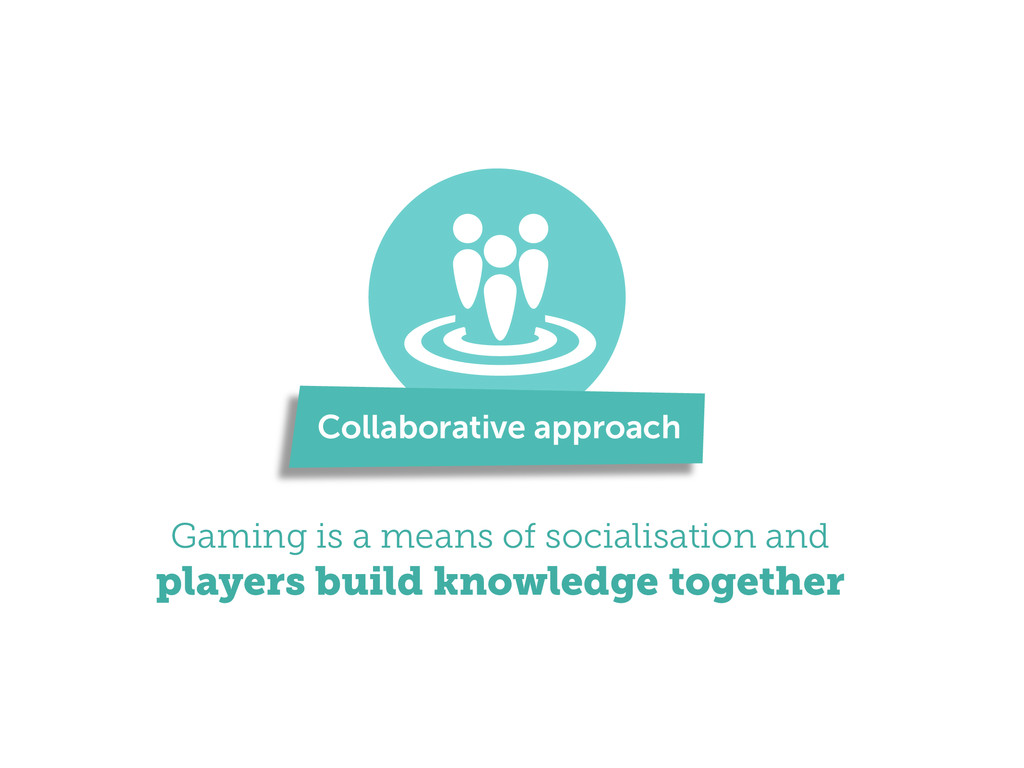 Gaming is a means of socialisation and players ...