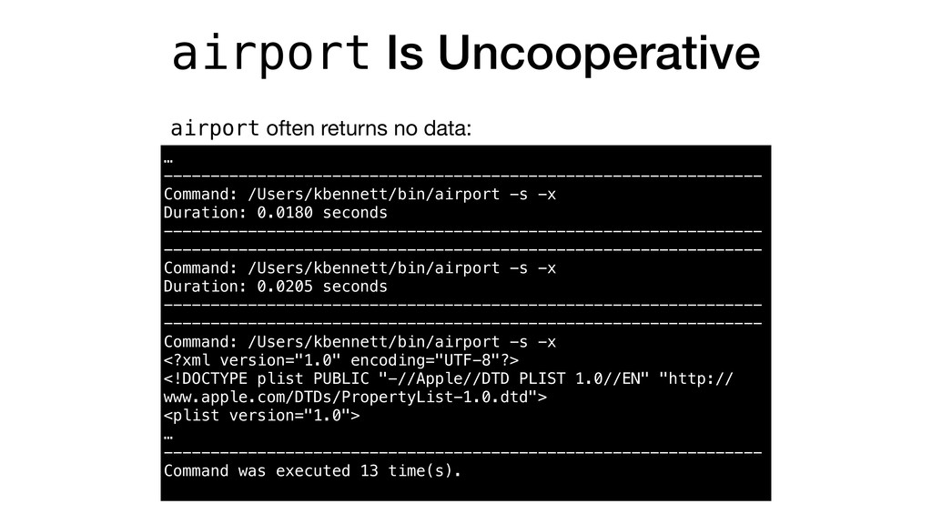 airport Is Uncooperative airport often returns ...