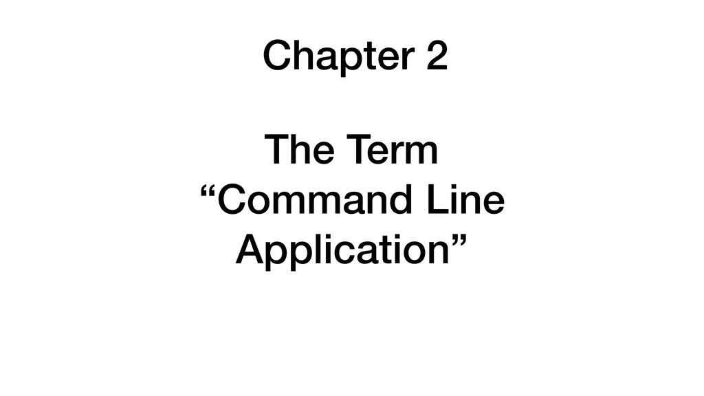 Chapter 2 The Term