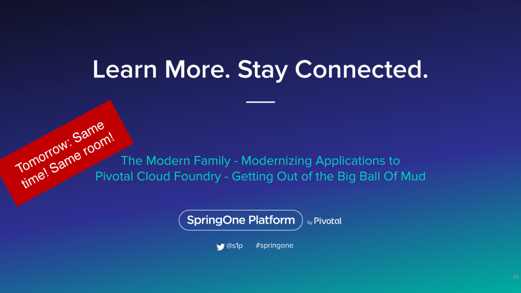 Learn More. Stay Connected. The Modern Family -...