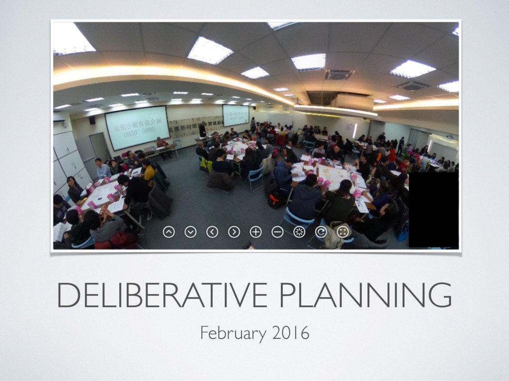 DELIBERATIVE PLANNING February 2016