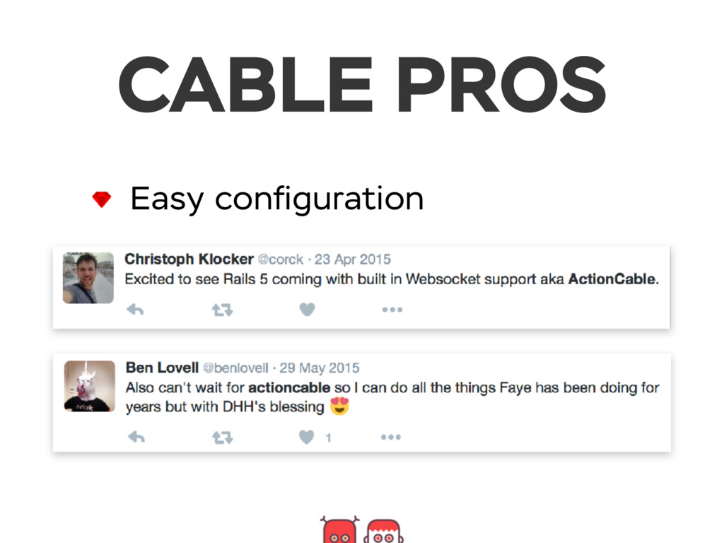 CABLE PROS Easy configuration