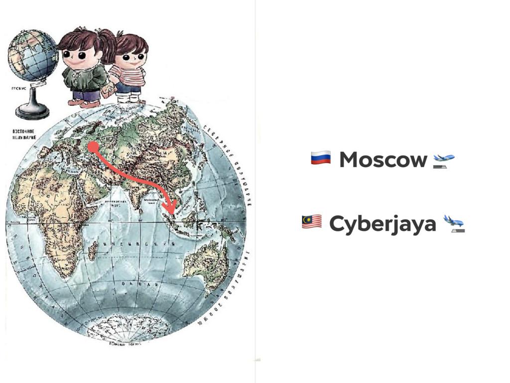 ! Moscow  # Cyberjaya