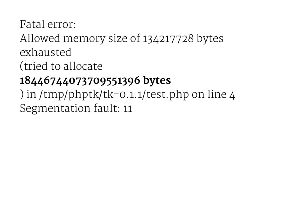 Fatal error: Allowed memory size of 134217728 b...
