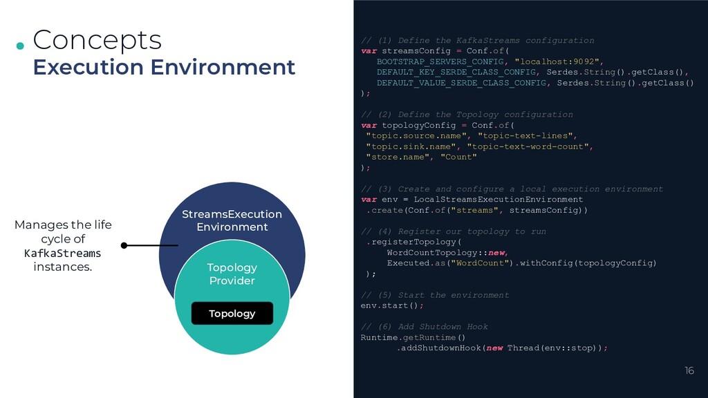 . . . Concepts Execution Environment StreamsExe...