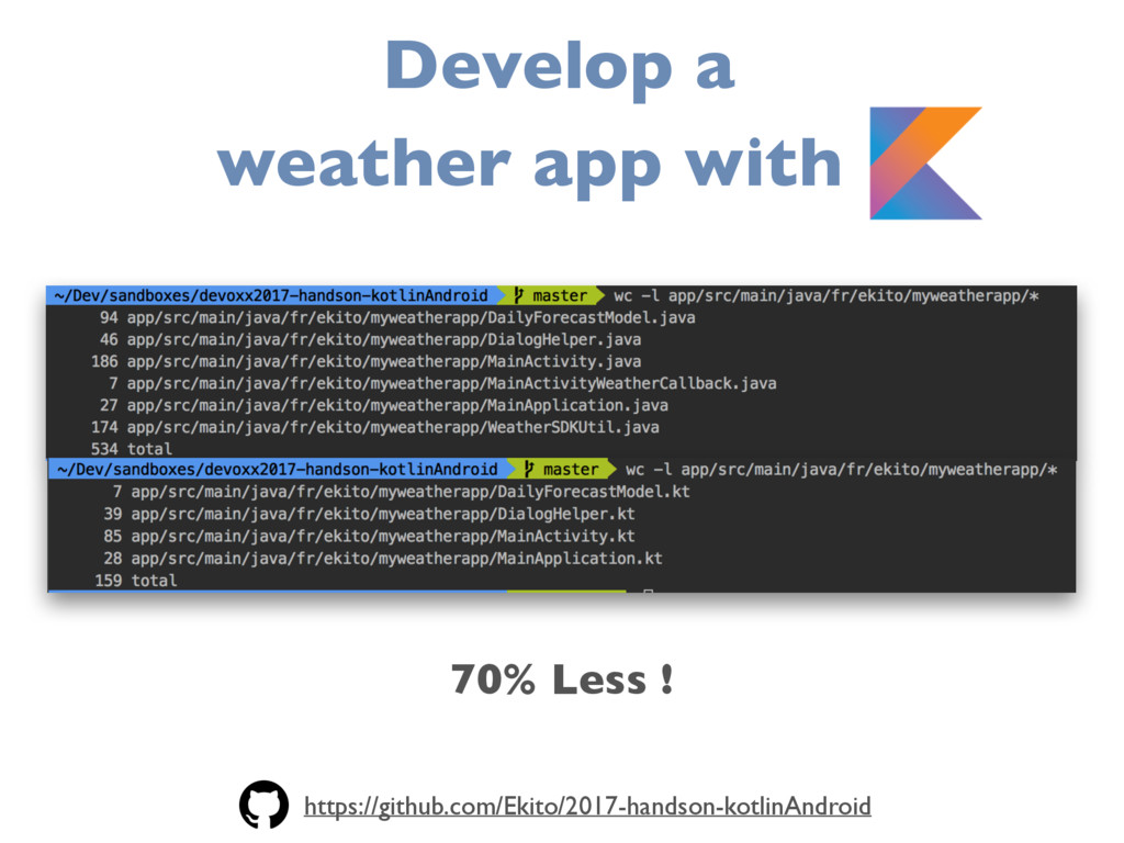 70% Less ! Develop a weather app with K https:/...