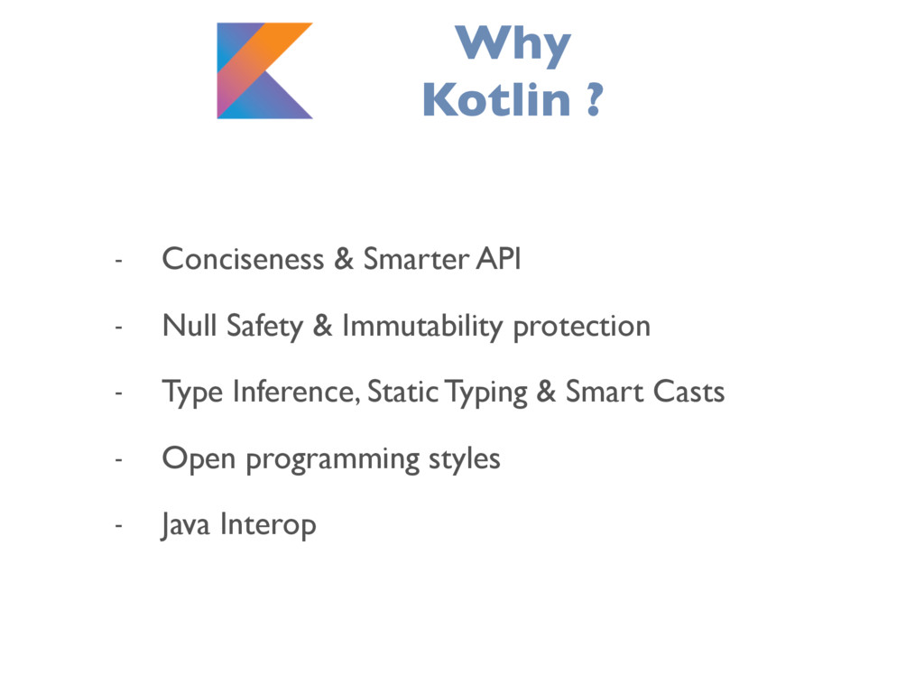 - Conciseness & Smarter API - Null Safety & Imm...