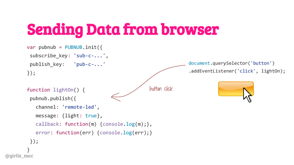 @girlie_mac Sending Data from browser var pubnu...