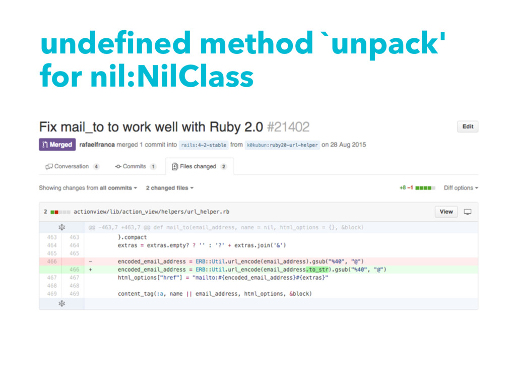 undefined method `unpack' for nil:NilClass