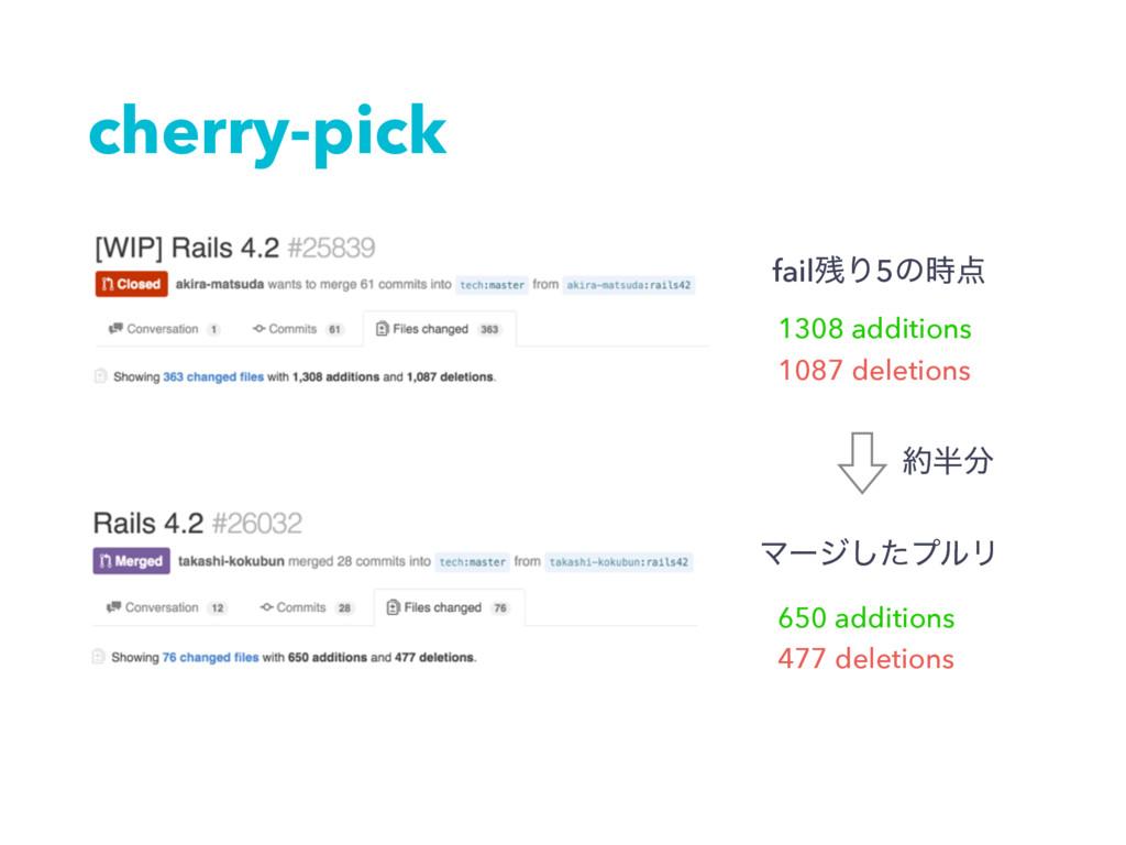 cherry-pick failΓ5ͷ 1308 additions 1087 dele...