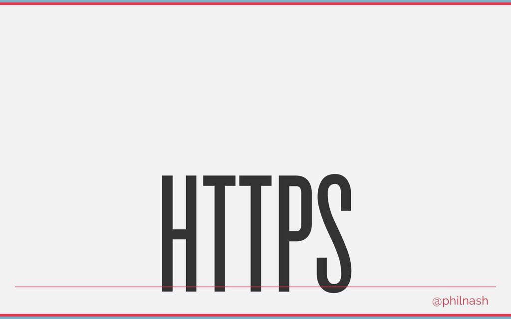 HTTPS @philnash