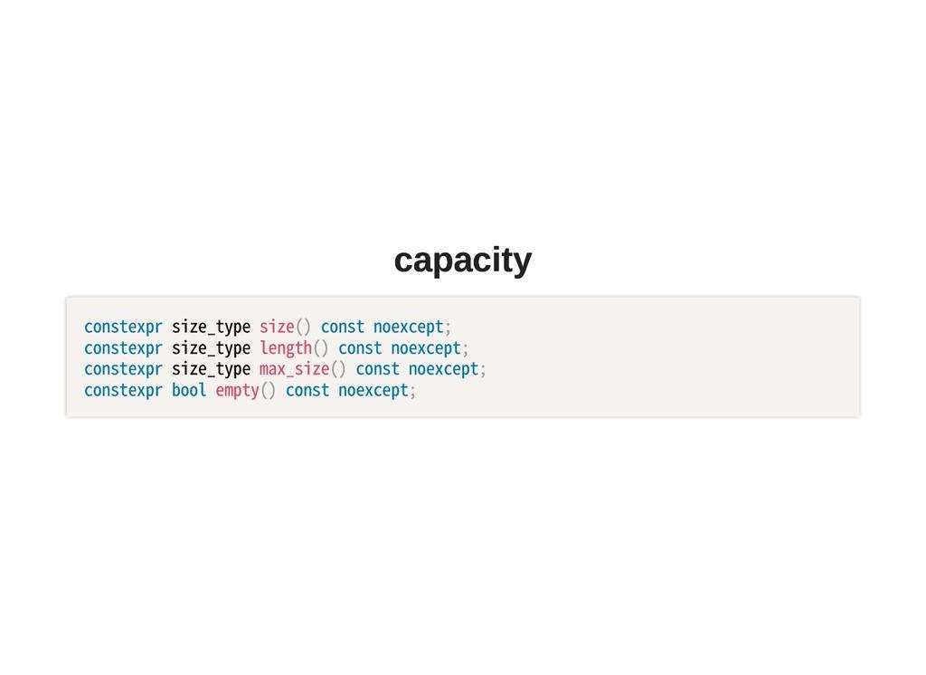 capacity capacity constexprsize_typesize()co...