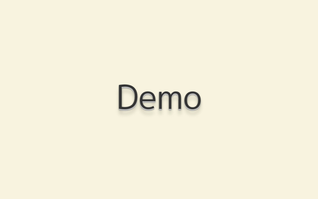 Demo Demo Demo Demo Demo Demo