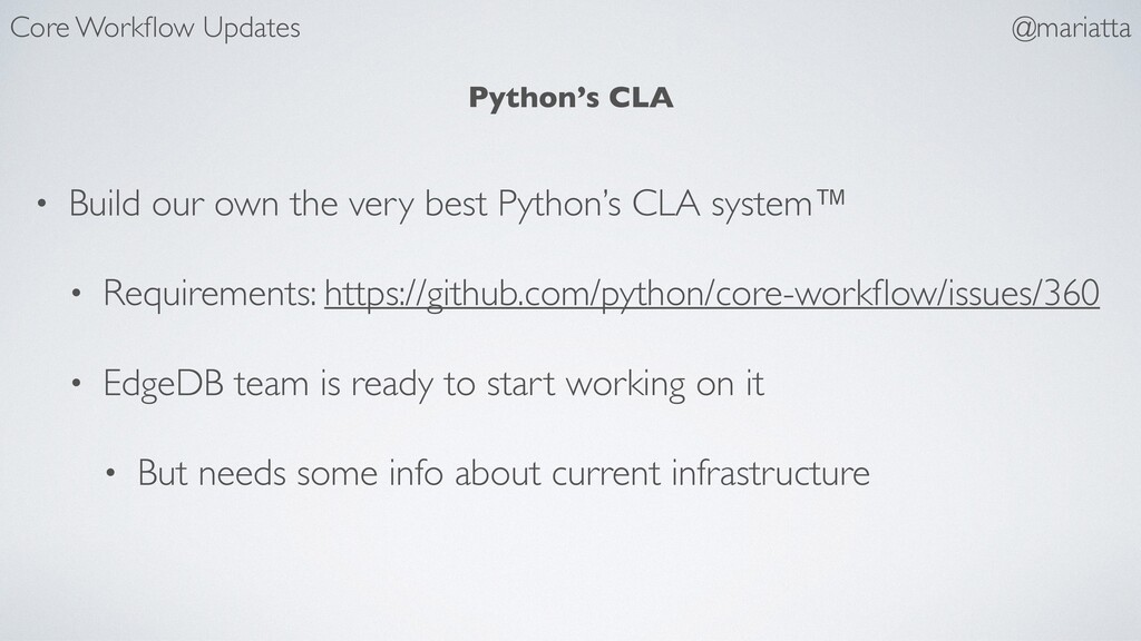 Python's CLA • Build our own the very best Pyth...