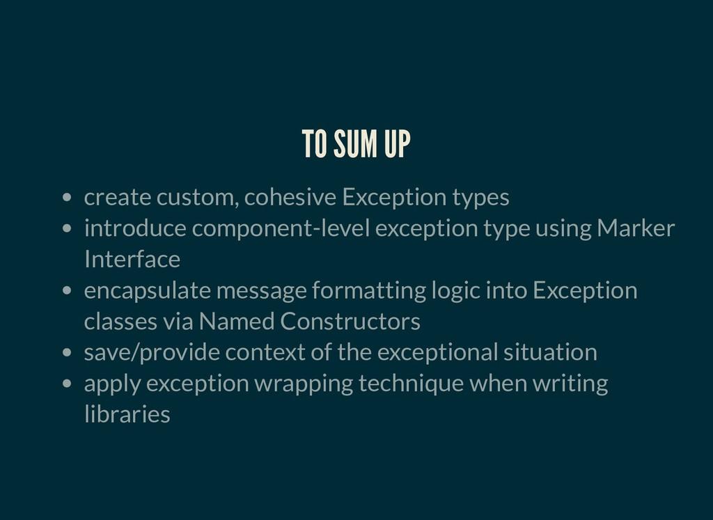 TO SUM UP TO SUM UP create custom, cohesive Exc...