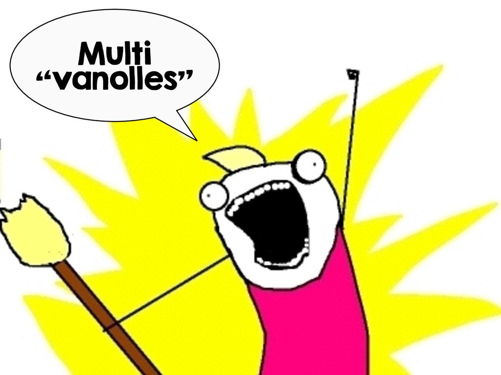"""Multi """"vanolles"""""""