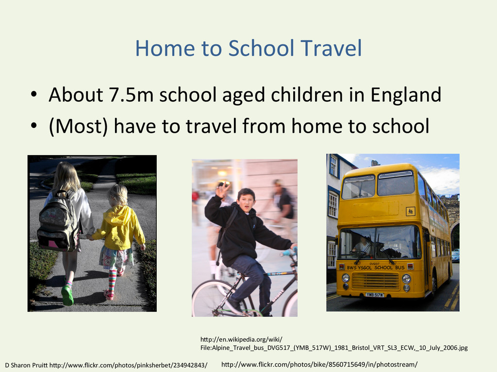 Home to School Travel  • About ...