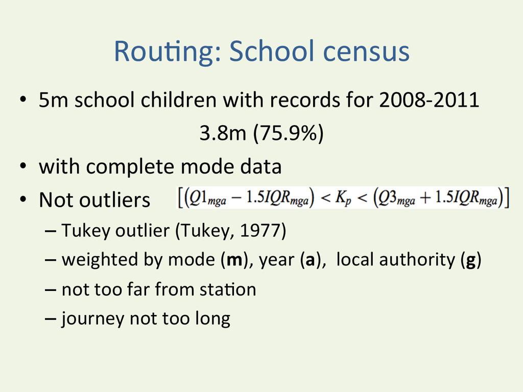 RouYng: School census  • 5m school...