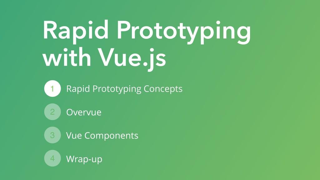 Rapid Prototyping Concepts Overvue Vue Componen...