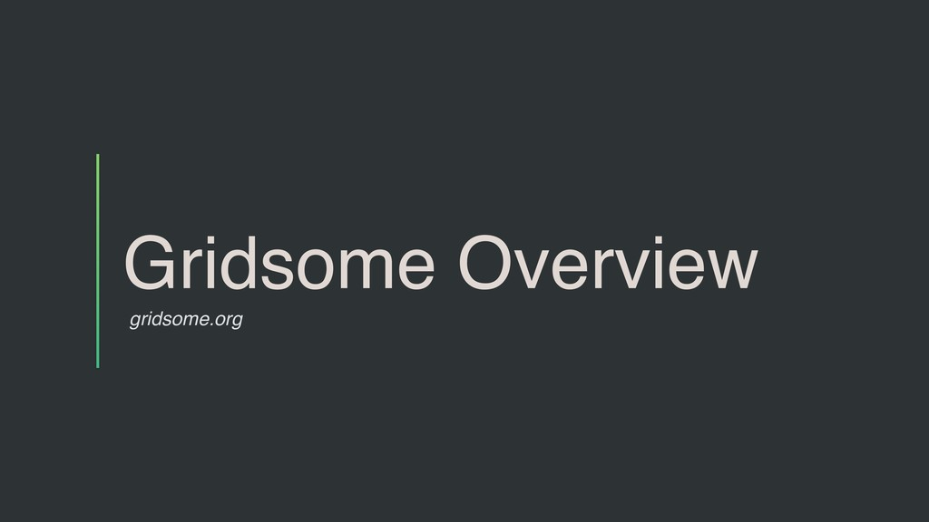 Gridsome Overview gridsome.org
