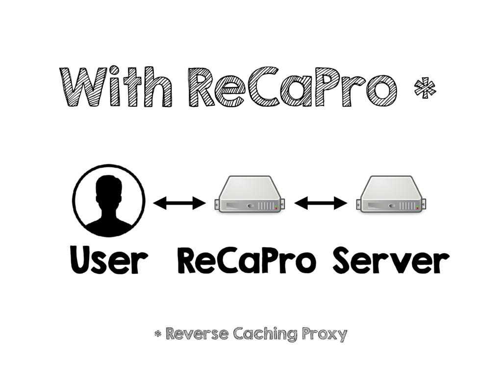 With ReCaPro * User ReCaPro Server * Reverse Ca...