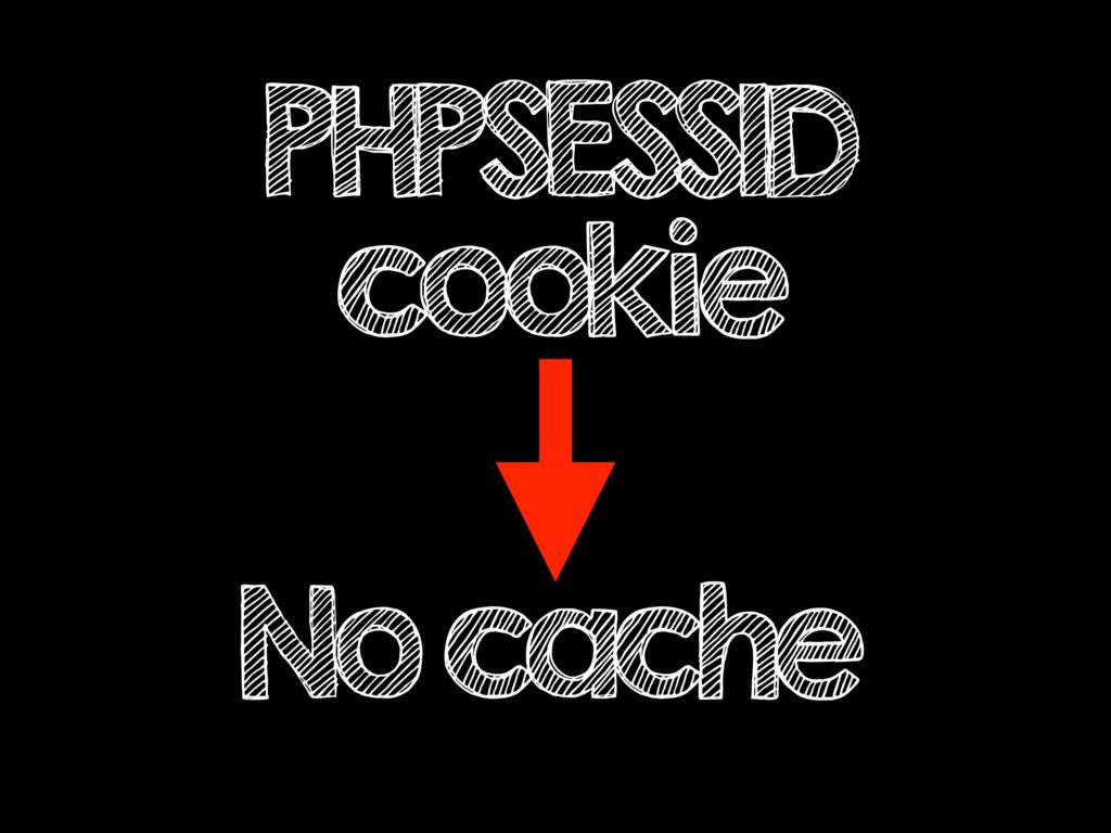 PHPSESSID cookie No cache