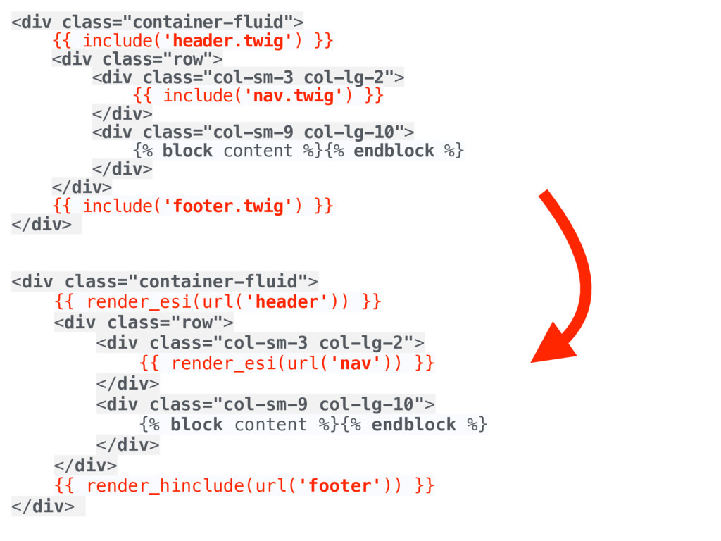 """<div class=""""container-fluid""""> {{ include('head..."""