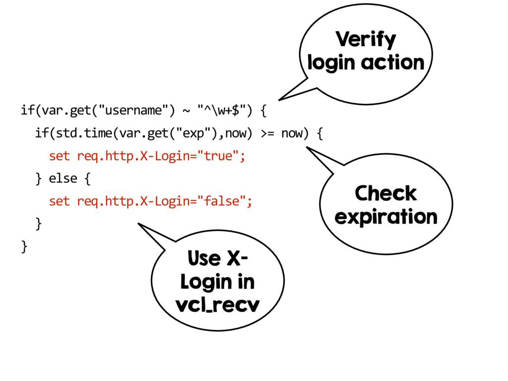 """if(var.get(""""username"""") ~ """"^\w+$"""") { if(std.tim..."""
