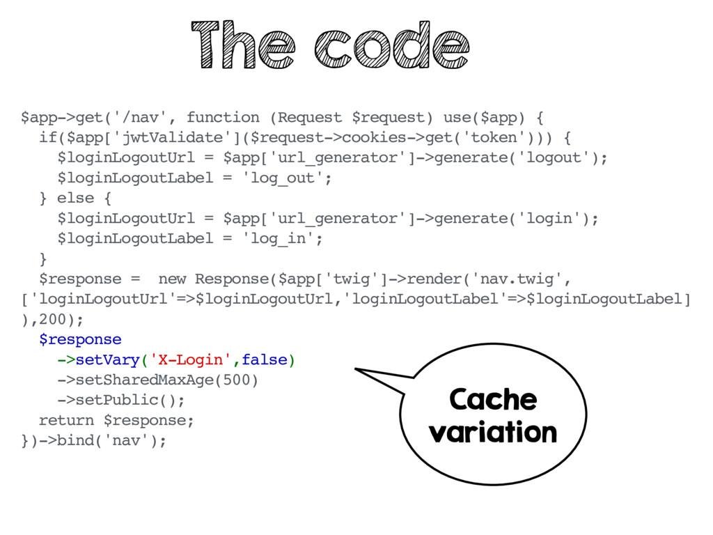 $app->get('/nav', function (Request $request) u...