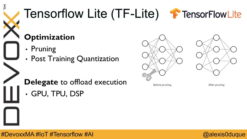 @alexis0duque #DevoxxMA #IoT #Tensorflow #AI Te...