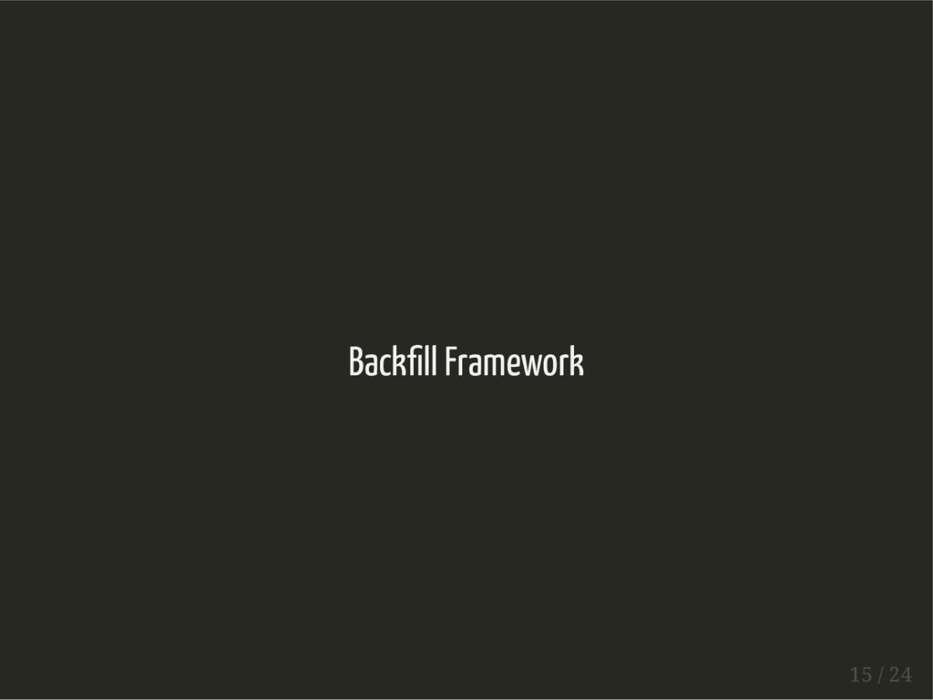 Back ll Framework 15 / 24