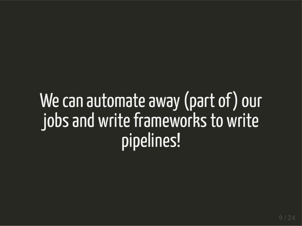 We can automate away (part of) our jobs and wri...