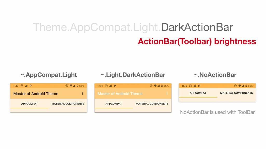 ~.AppCompat.Light ~.Light.DarkActionBar ~.NoAct...