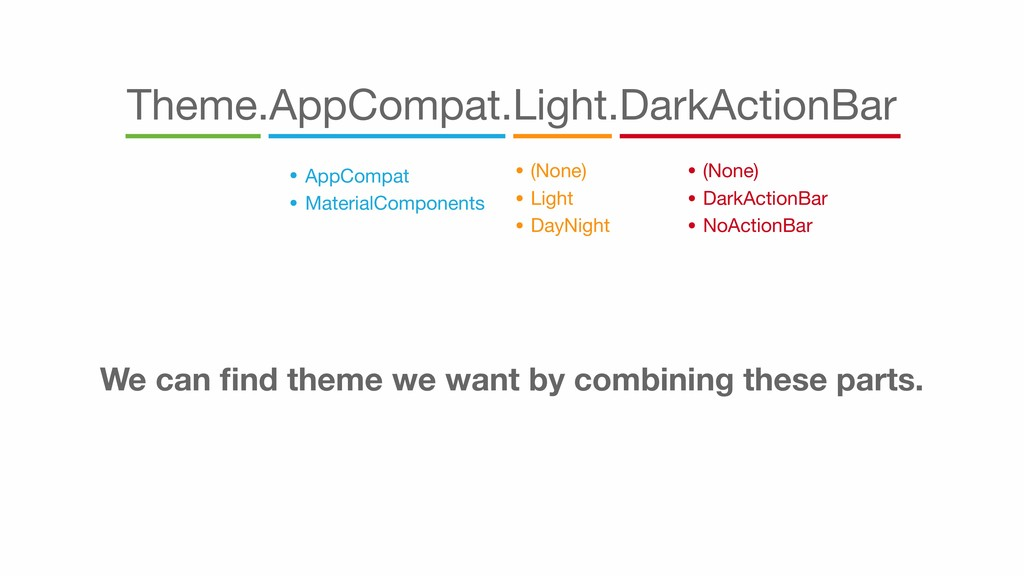 Theme.AppCompat.Light.DarkActionBar • AppCompat...