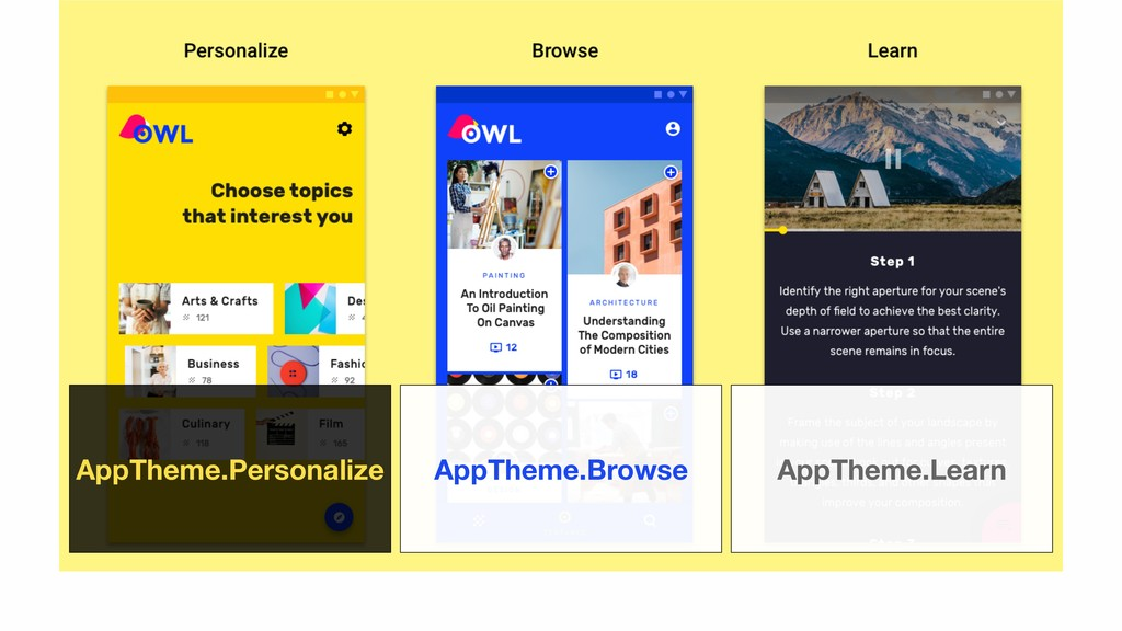 AppTheme.Personalize AppTheme.Browse AppTheme.L...