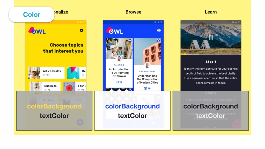 colorBackground textColor colorBackground tex...