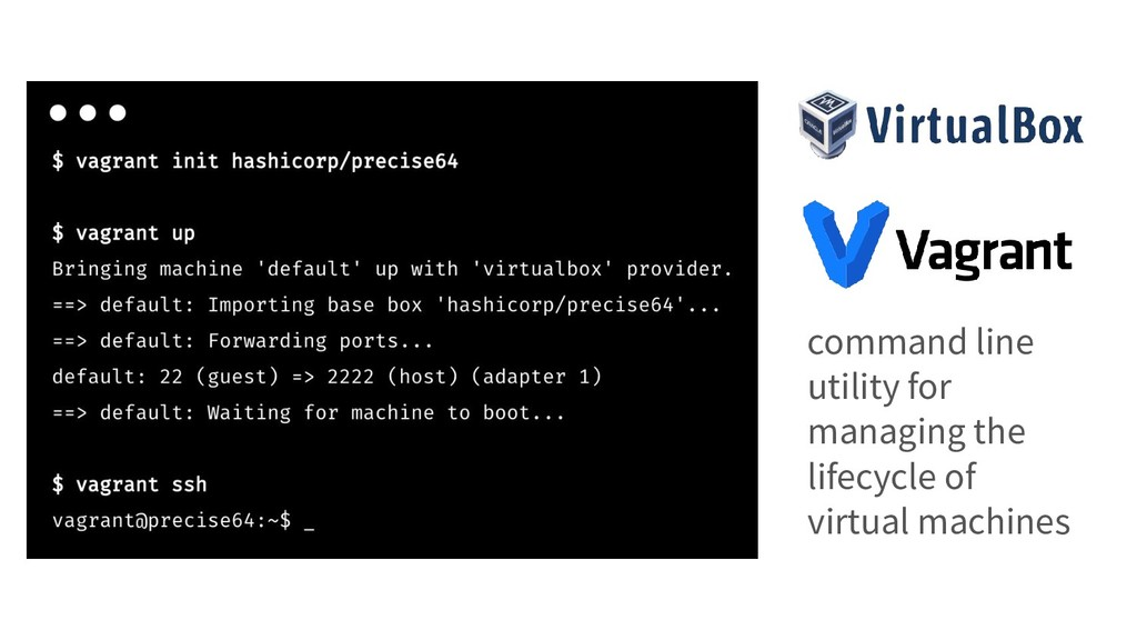 command line utility for managing the lifecycle...