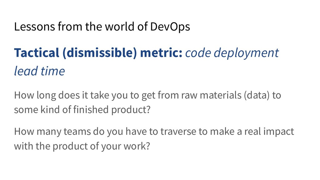 Lessons from the world of DevOps Tactical (dism...