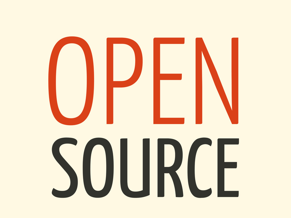 SOURCE OPEN