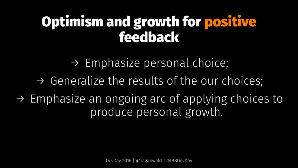 Optimism and growth for positive feedback → Emp...