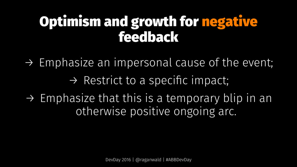 Optimism and growth for negative feedback → Emp...