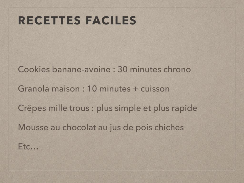 Cookies banane-avoine : 30 minutes chrono Grano...