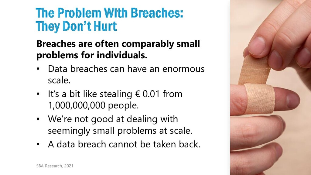 11 The Problem With Breaches: They Don't Hurt B...