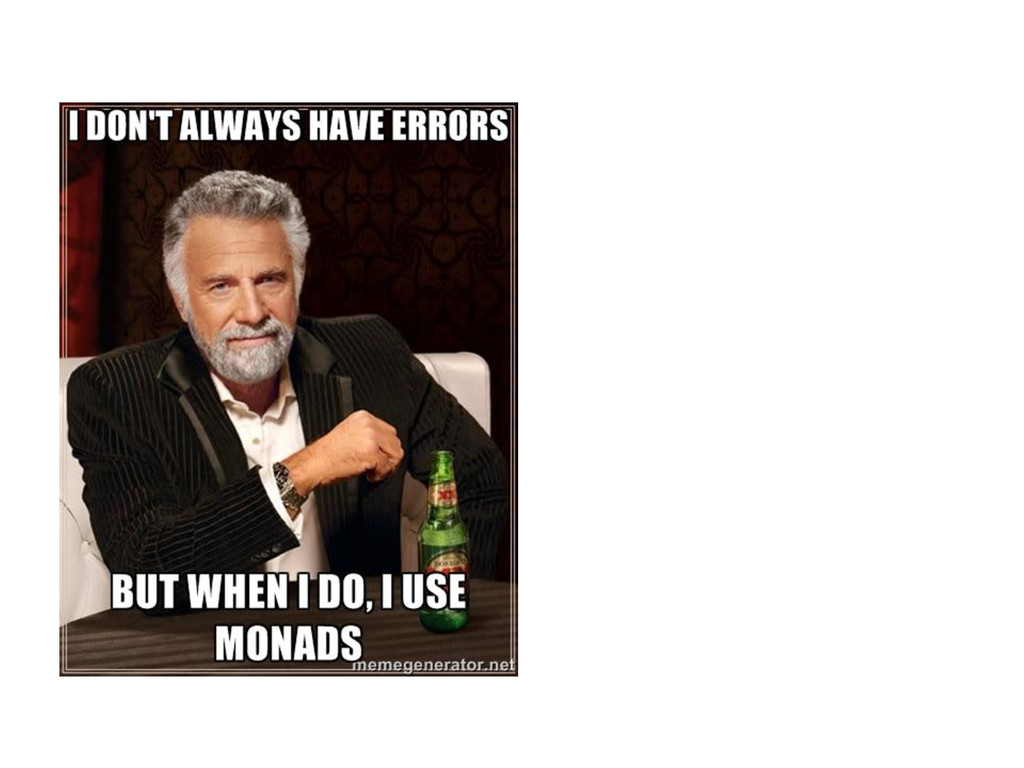 I don't always have errors...