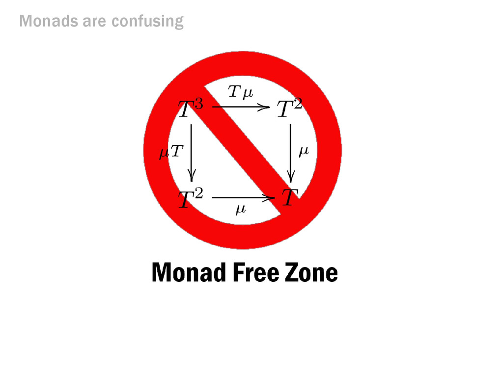 Monads are confusing