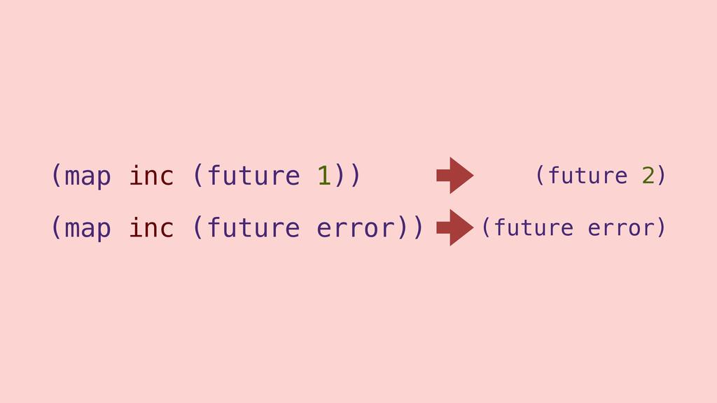 (map inc (future 1)) (future 2) (map inc (futur...