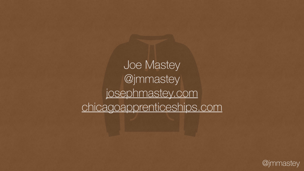 @jmmastey Joe Mastey @jmmastey josephmastey.com...