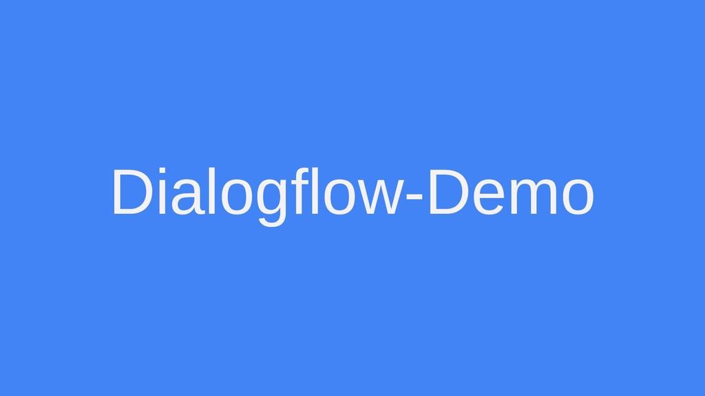 Dialogflow-Demo