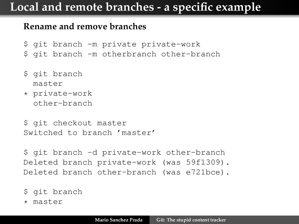 Local and remote branches - a specific example R...